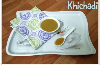 Weaning food recipe - Indian baby - Khichadi