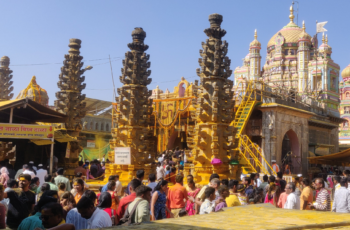The golden temple of Jejuri Martand Bhairav